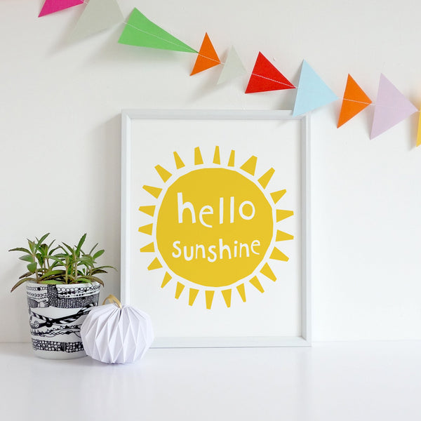 Hello Sunshine 2 Wall Art