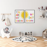 You Are My Sunshine - Typography Set