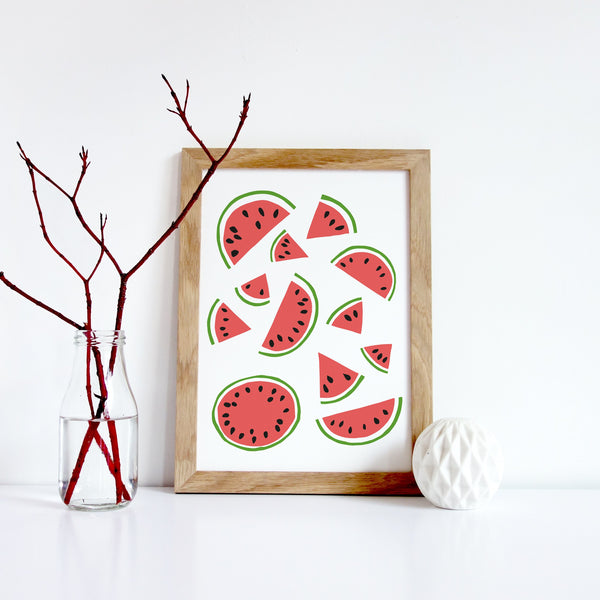 Watermelon Pattern Print