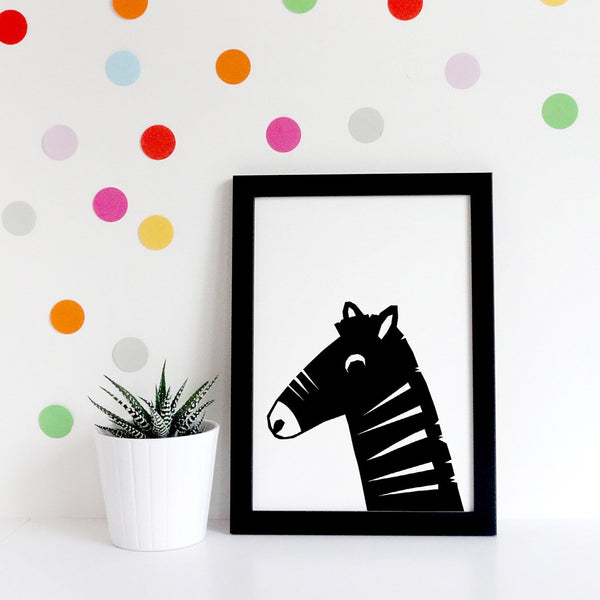 Safari Zebra Illustration by Hello YOYO Studio