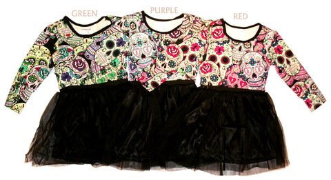 girls tutu punk dress
