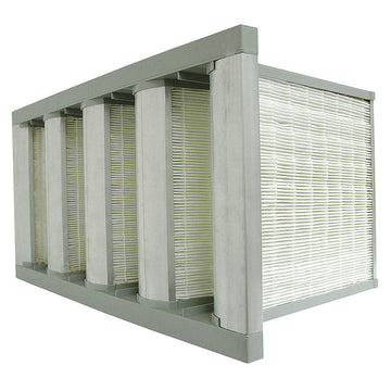 AIR HANDLER MERV 11 V-Bank Air Filters Fiberglass Media Synthetic Media