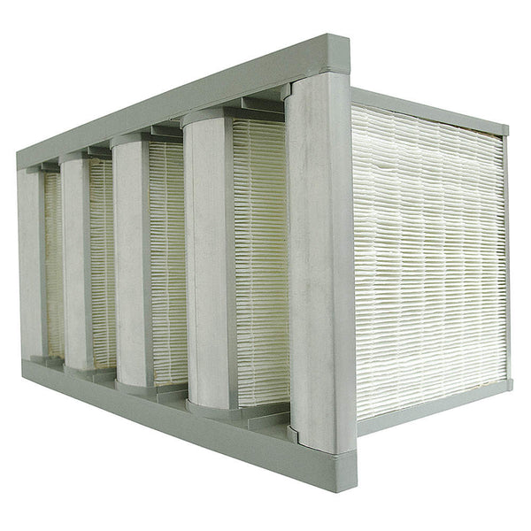AIR HANDLER MERV 11 V-Bank Air Filters Fiberglass Media - The Green Whistle Air Filters