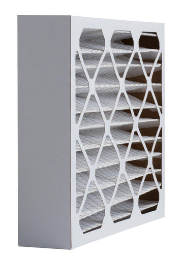 20 x 25 x 4 MERV 8 Pleated Air Filter (12 pack)