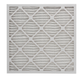 25 x 25 x 1 MERV 11 Pleated Air Filter (6 PACK)