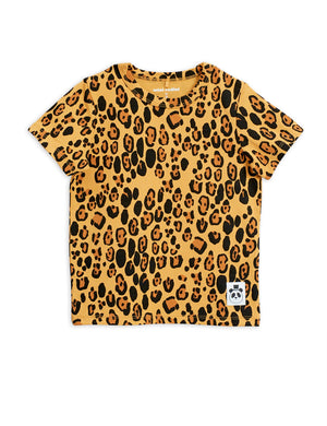 Mini Rodini Basic Leopard Tencel Ss Tee