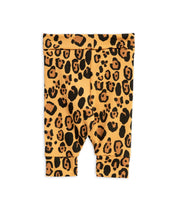 Mini Rodini Basic Leopard Tencel Newborn Leggings