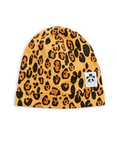 Mini Rodini Basic Leopard Tencel Beanie