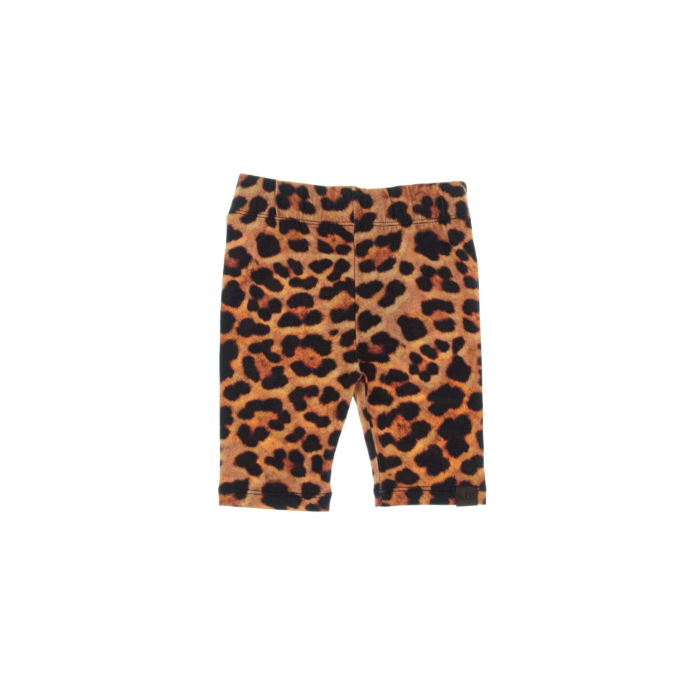 Kiddow Biker Shorts, Leopard