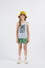 Bobo Choses Pineapple Striped Tank Top