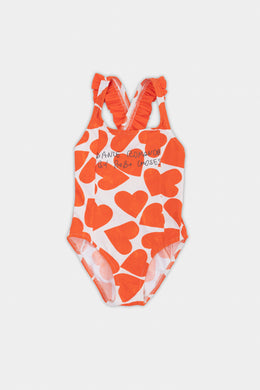 Bobo Choses All Over Hearts Swimsuit