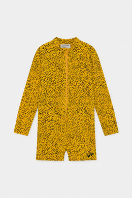 Bobo Choses All Over Leopard Swim Playsuit
