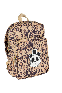 Mini Rodini Panda Backpack Beige
