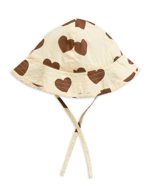 Mini Rodini Hearts Sun Hat
