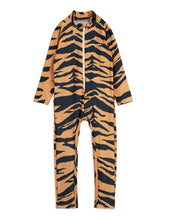 Mini Rodini Tiger UV Suit Brown