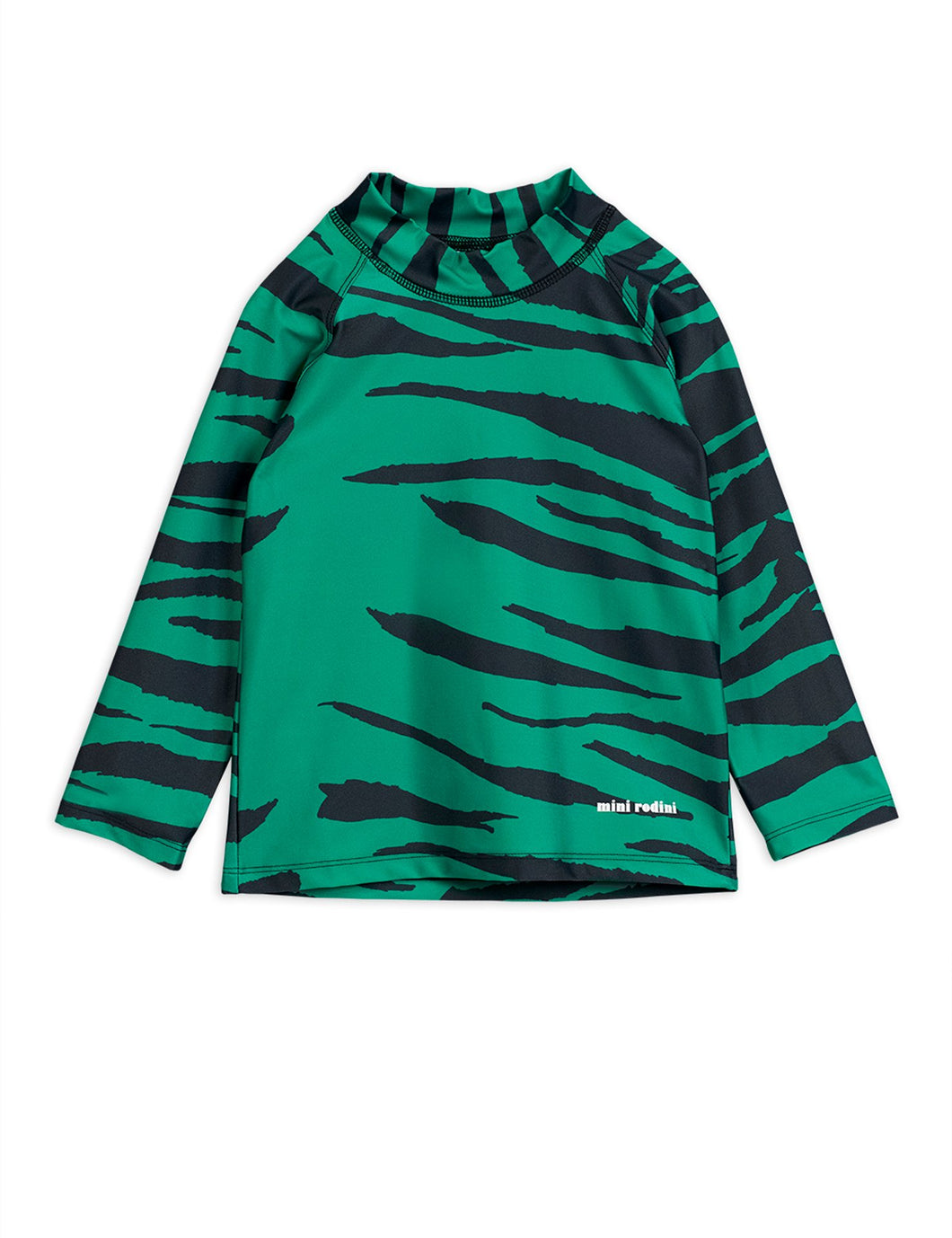 Mini Rodini Tiger UV Top Green
