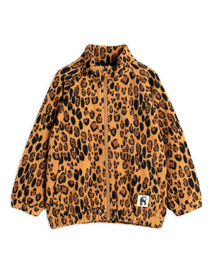 Mini Rodini Fleece Jacket Leopard