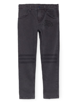 Bobo Choses Black Slim Fit Trousers
