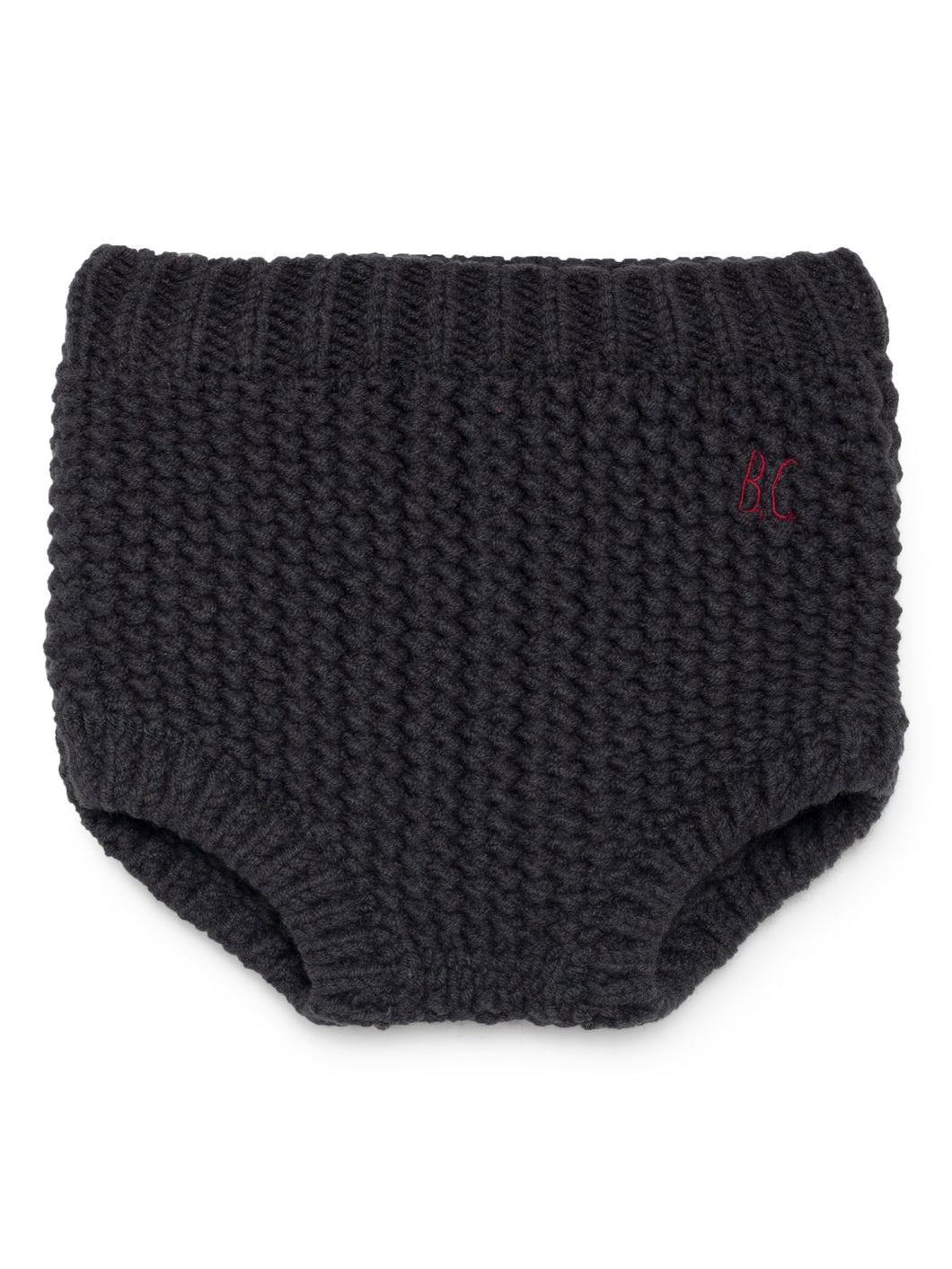 Bobo Choses Baby Black Knitted Culotte