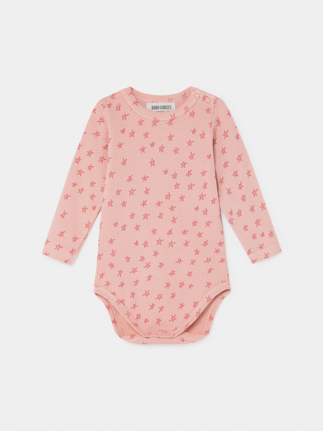 Bobo Choses All Over Stars Long Sleeve Body