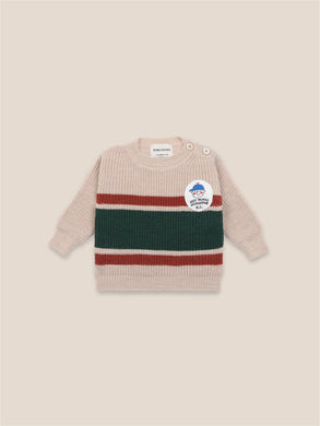 Bobo Choses Boy Patch Jumper Baby