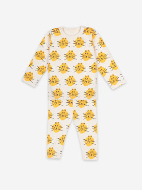 Bobo Choses Cat Allover Pyjamas Baby