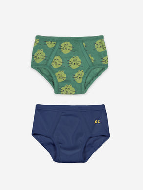 Bobo Choses B.C and All Over Cat Boy Underwear set