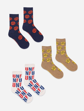 Bobo Choses Fun and Cat Socks 3-pack