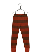 Mainio Field knit pants, paprika/cinnamon