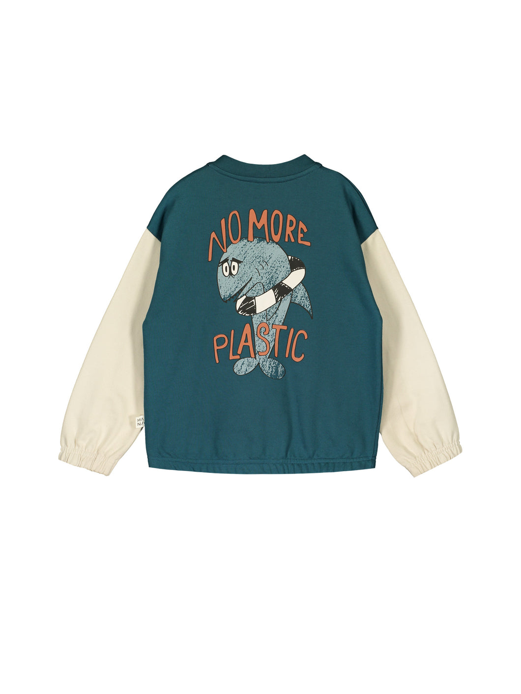 Mainio No More Plastic bomber jacket