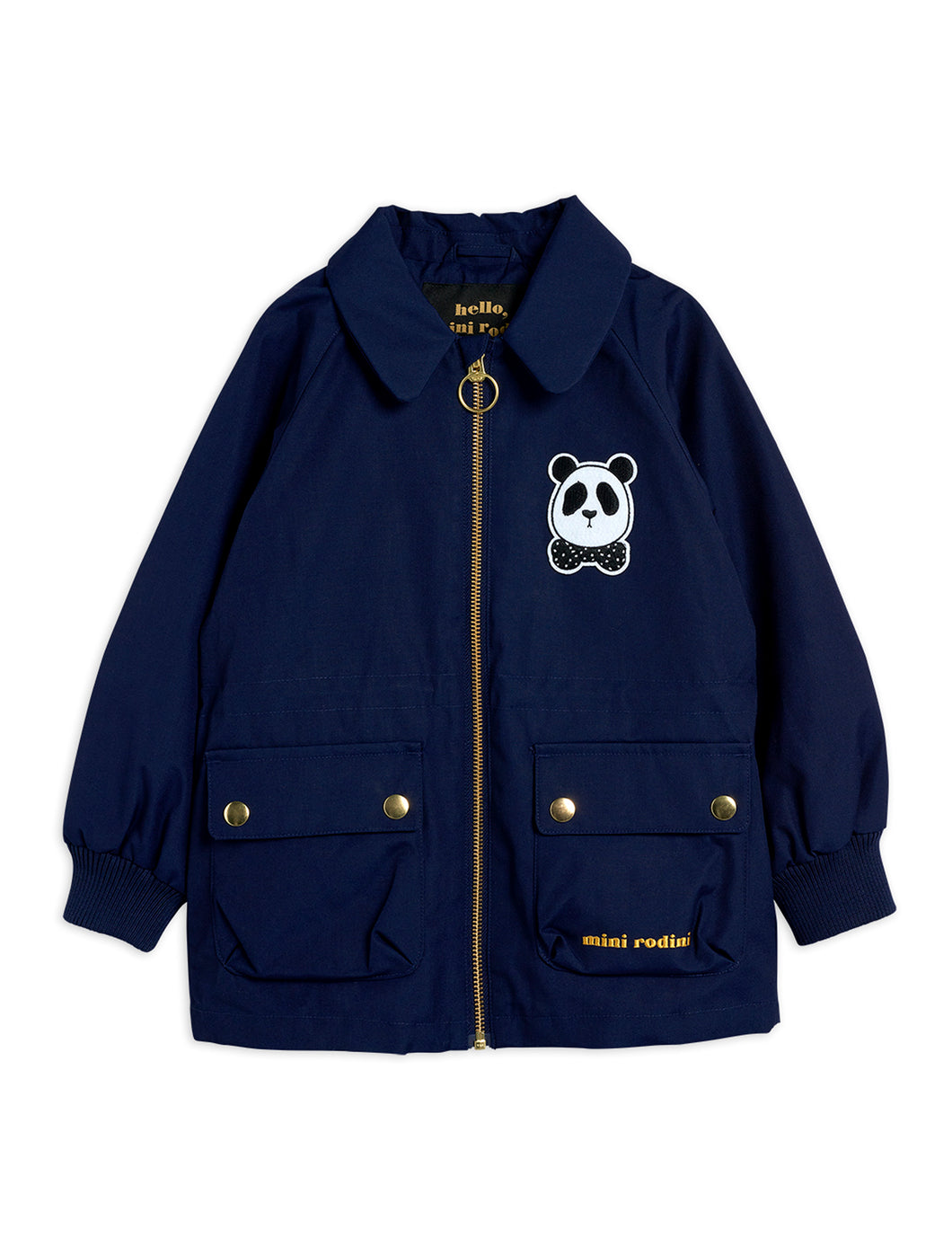 Mini Rodini Panda Jacket Navy