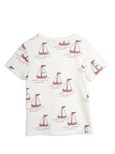 Mini Rodini Sailing Boats Shortsleeve Tee