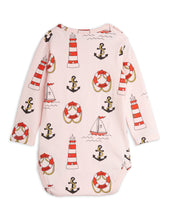 Mini Rodini Lighthouse Longsleeve Body Pink