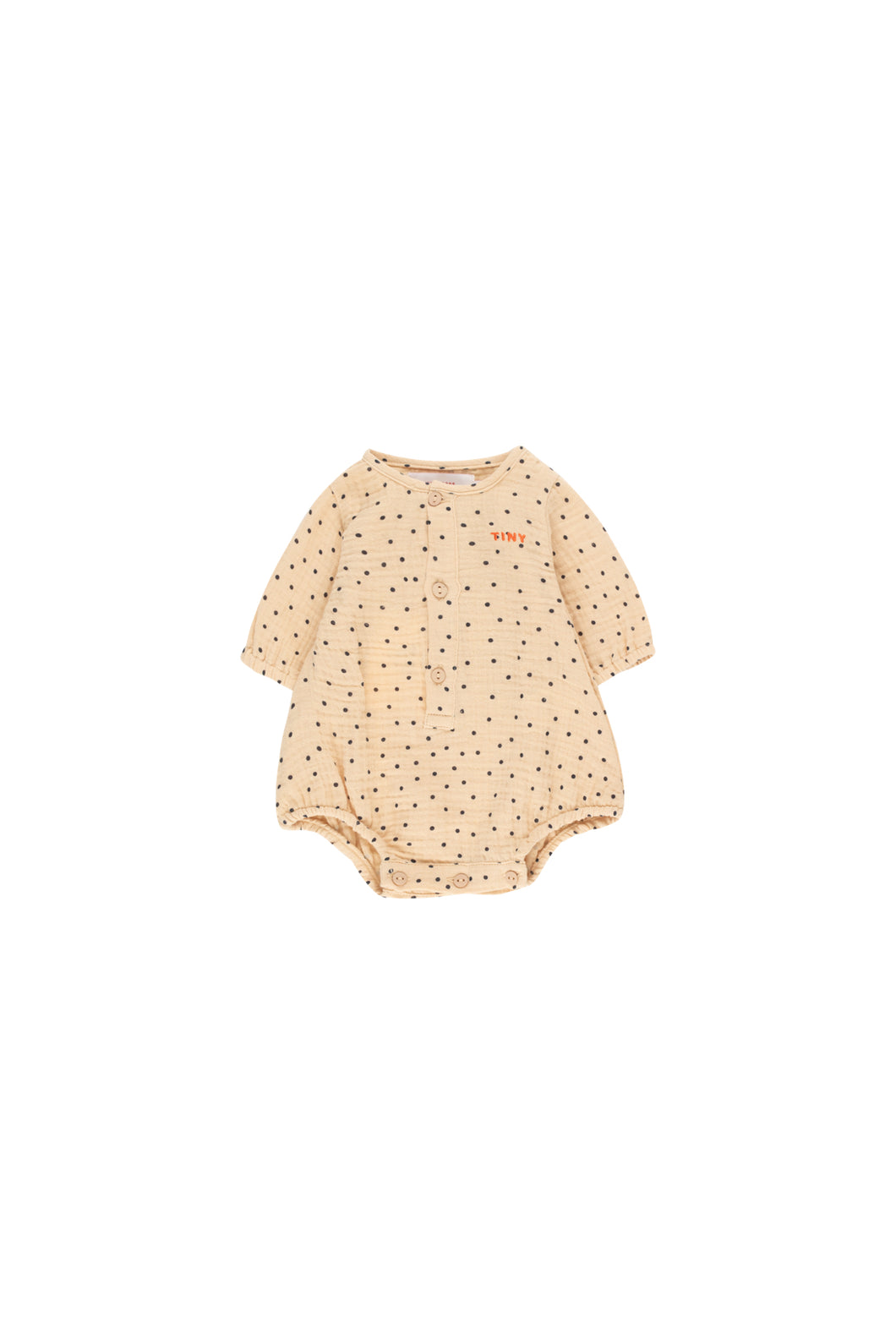 Tinycottons TINY DOTS Body Cappuccino/navy