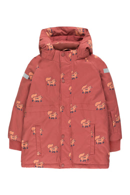 Tinycottons Foxes Snow Jacket