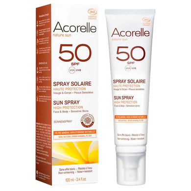 Acorelle Aurinkosuojaspray SPF50 100ml