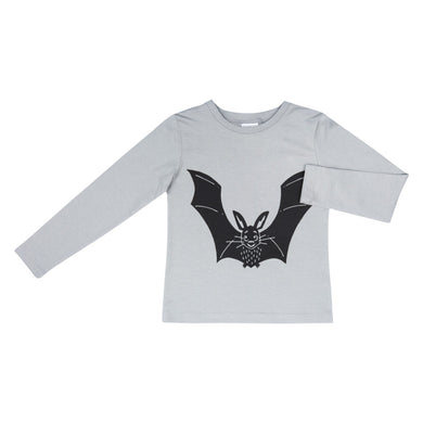 Dadamora Longsleeve T-Shirt Bat Neutral Grey