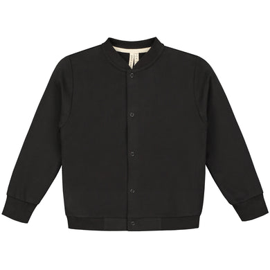 Gray Label Baseball Cardigan Nearly Black