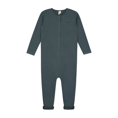 Gray Label L/S Playsuit Blue Grey