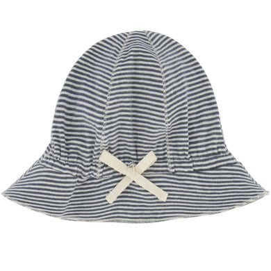Gray Label Baby Sun Hat Blue Grey/Cream