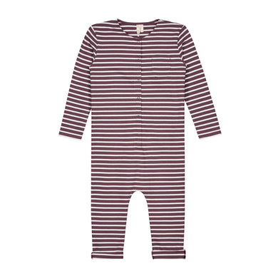 Gray Label L/S Playsuit Stripe