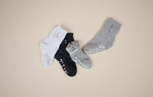 STUCKIES Socks Fossil grey