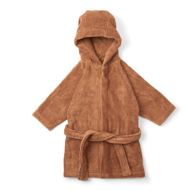 Konges Sloejd Terry Bathrobe Almond