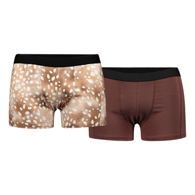Kaiko Men Boxers 2-pack, Copper Bambi/Roots