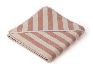 Liewood Louie Hooded Junior Towel Rose/Sandy
