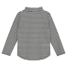 Gray Label Longsleeve Polo Tee Nearly Black/Off White