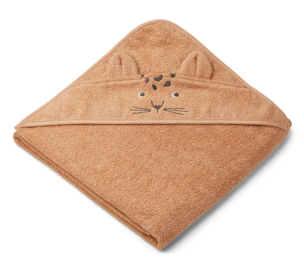 Liewood Augusta Towel Leopard Apricot