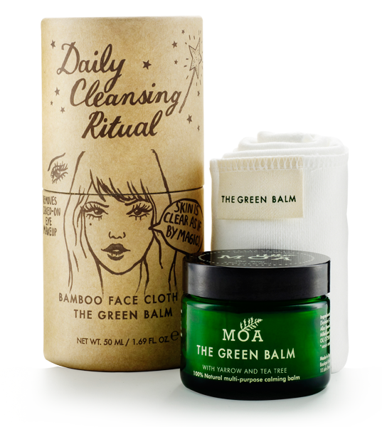 MOA the Green Balm 'Daily Cleansing Ritual' puhdistussetti