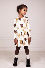 Mini Rodini Cat Choir Longsleeve Dress