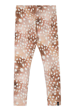 Kaiko Bambi Leggings, Copper Bambi